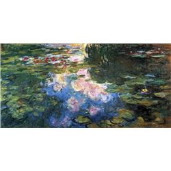 Claude Monet - Water Lillies # 4