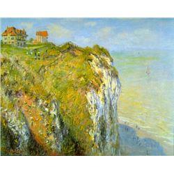 Claude Monet - Cliffs