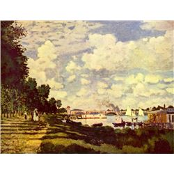 Claude Monet - Sailing at Argenteuil
