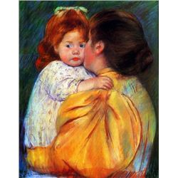 Mary Cassatt - Maternal Kiss 1896
