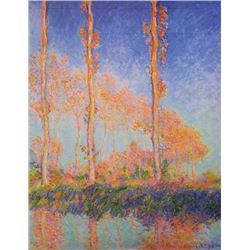 Claude Monet - Poplars at Philadelphia