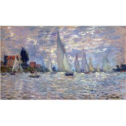 Claude Monet - Les Barques