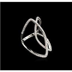 0.47 ctw Diamond Ring - 14KT White Gold