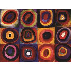 Wassily Kandinsky Farbstudie Quadrate