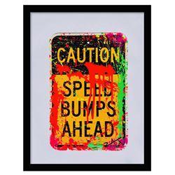 Caution - Speed Bumps by Zax Original