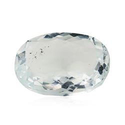 6.88 ct.Natural Oval Cut Aquamarine