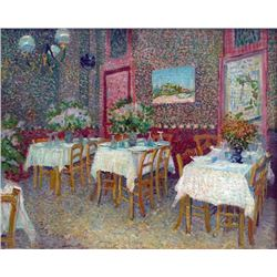 Van Gogh - Interior Of A Restaurant