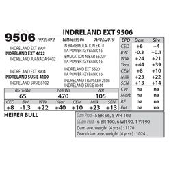 INDRELAND EXT 9506