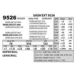 5ASH EXT 9526
