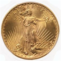 1924 $20 Gold Saint Gaudens in High Grade