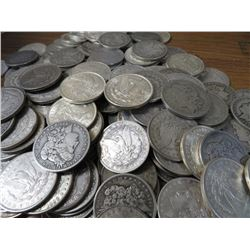 Lot of (50) Morgan Silver Dollars -