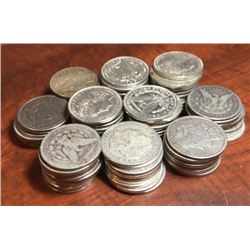 Morgan Silver Dollars 94 pcs