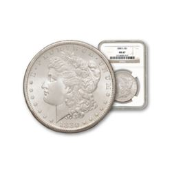 1880 s MS 67 NGC Graded Morgan Dollar