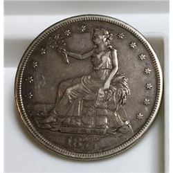 1877 San Francisco US Trade Dollar