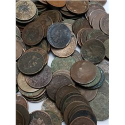Lot of 153 Indian Head Cents -