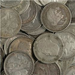 Lot of (10) Columbian Expo Half Dollars 1892-1893
