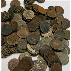 133 pcs. Indian Head Cents -