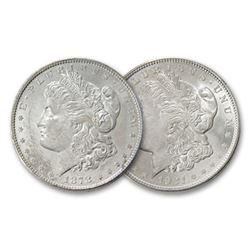 1878 S - 1921 P UNC Morgan Dollars - 1st-Last