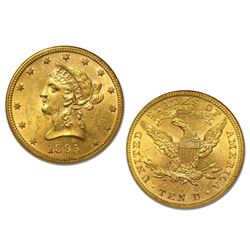 1895 $10 Gold Liberty High Grade Eagle