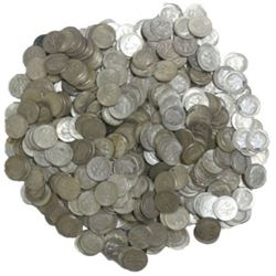 200 pcs. Roosevelt 90% Silver Dimes -