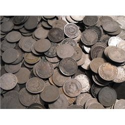 Lot of (100) V Nickels AG - G