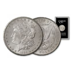 1884 CC GSA Morgan Silver Dollar