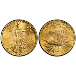 1925 $20 Gold Saint Gaudens