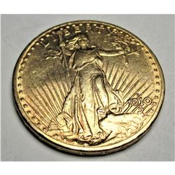 1910 s Better  $20 Gold Saint Gaudens Double Eagle