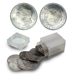 1883 O UNC Roll of Morgan Dollars
