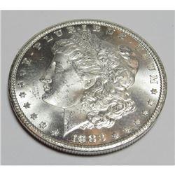1883 Carson City BU grade Morgan Silver Dollar