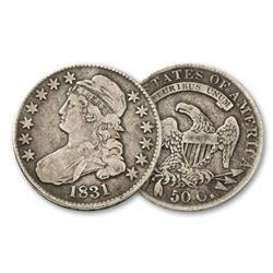 1831 Capped Bust Half Dollar VF/XF Grade