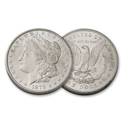 1878 S BU grade Morgan Silver Dollar