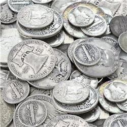 $10 Face Value 90% Silver Random Mix