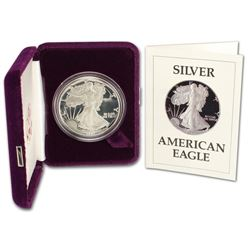 1987 US Silver Eagle Proof -Orig. Packing