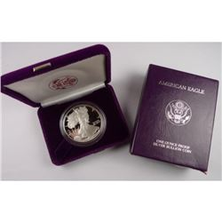1986 US Silver Eagle Proof in Mint Box