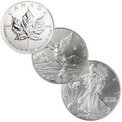 North American Silver Bullion -US,Can,Mex