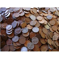 Lot of (400) Wheat Cents