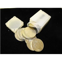 Lot of 20 Peace Silver Dollars in tube