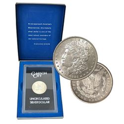 1884 CC GSA Morgan Silver Dollar Complete