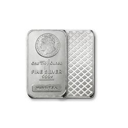 1 oz Morgan Design Silver Bar -.999 Pure