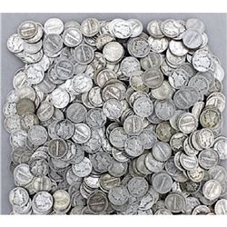 Lot of (300) Mercury Dimes -$30 Face -90% Silver