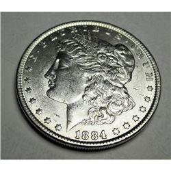 1884 P  Morgan Silver Dollar