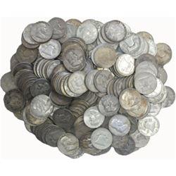 (100) Franklin Half Dollars -90% Silver