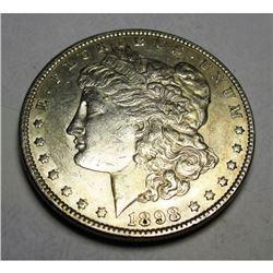 1898 P Morgan Silver Dollar