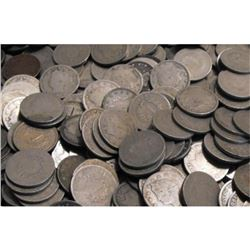 Lot of (100) V Nickels - Circulated
