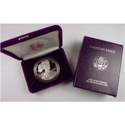 1986 Silver Eagle Prrof Inagural Issue