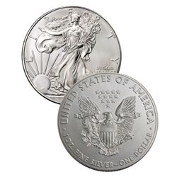 1 oz US Silver Eagle Random Date