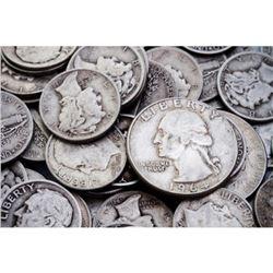 $5 Face Value 90% Silver Bullion Coinage