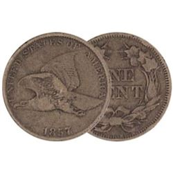 1857 Flying Eagle Cent - G-VG