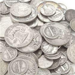 $10 face Value Mixed -90% Silver Coins